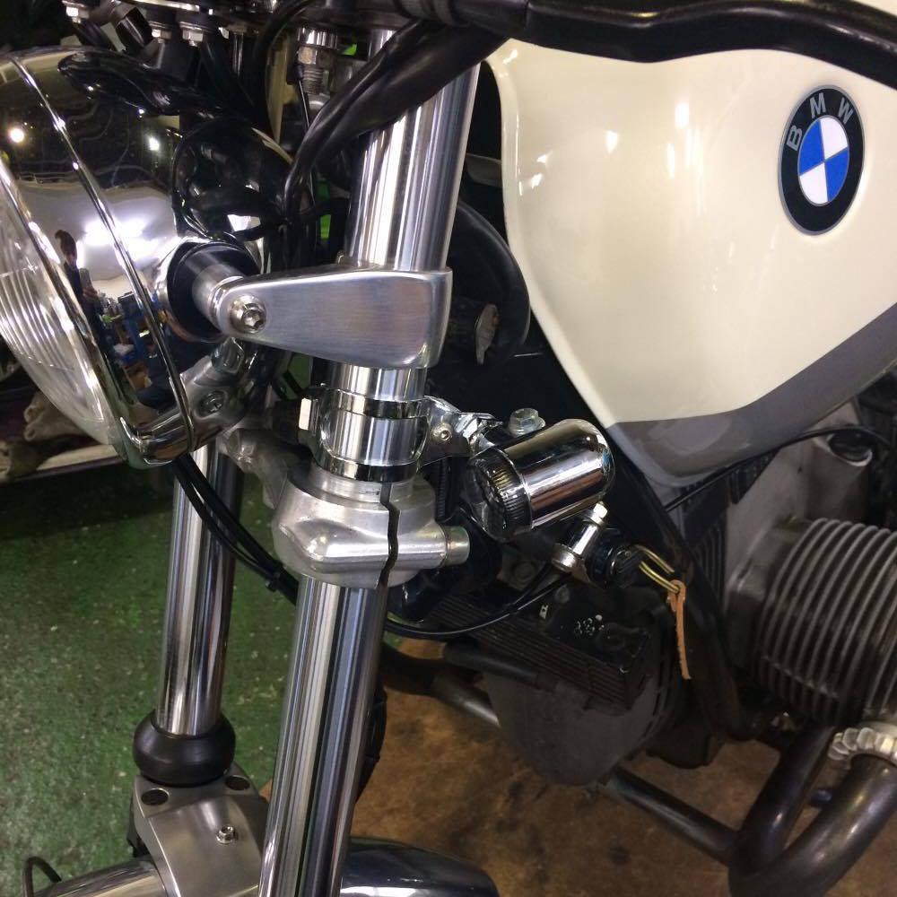 BMW RV2(R100RS R100 R80)用ウインカーステー試作完成!