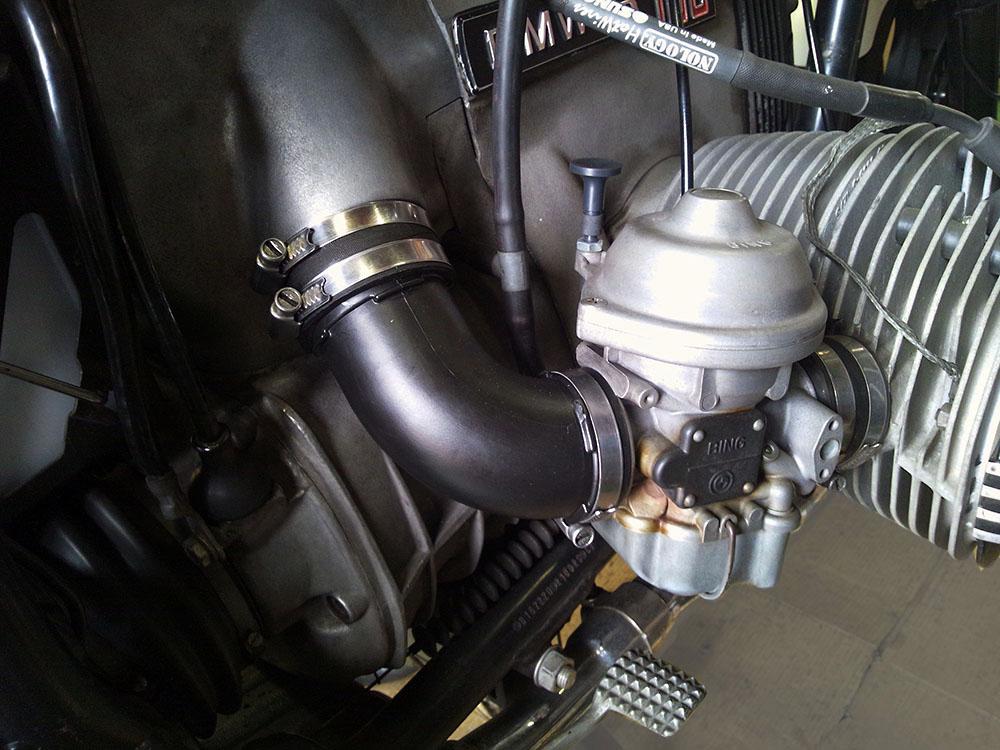 モギーモータース製スターターノブ(チョークレバー)のご紹介 BMW R100RS カスタムパーツ