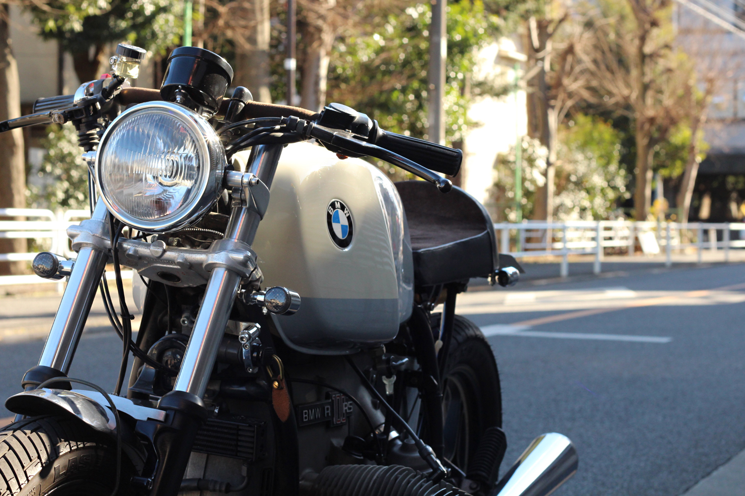 BMW R100RS CUSTOM OutLoud Manx Seat Cafe Racer Cstom