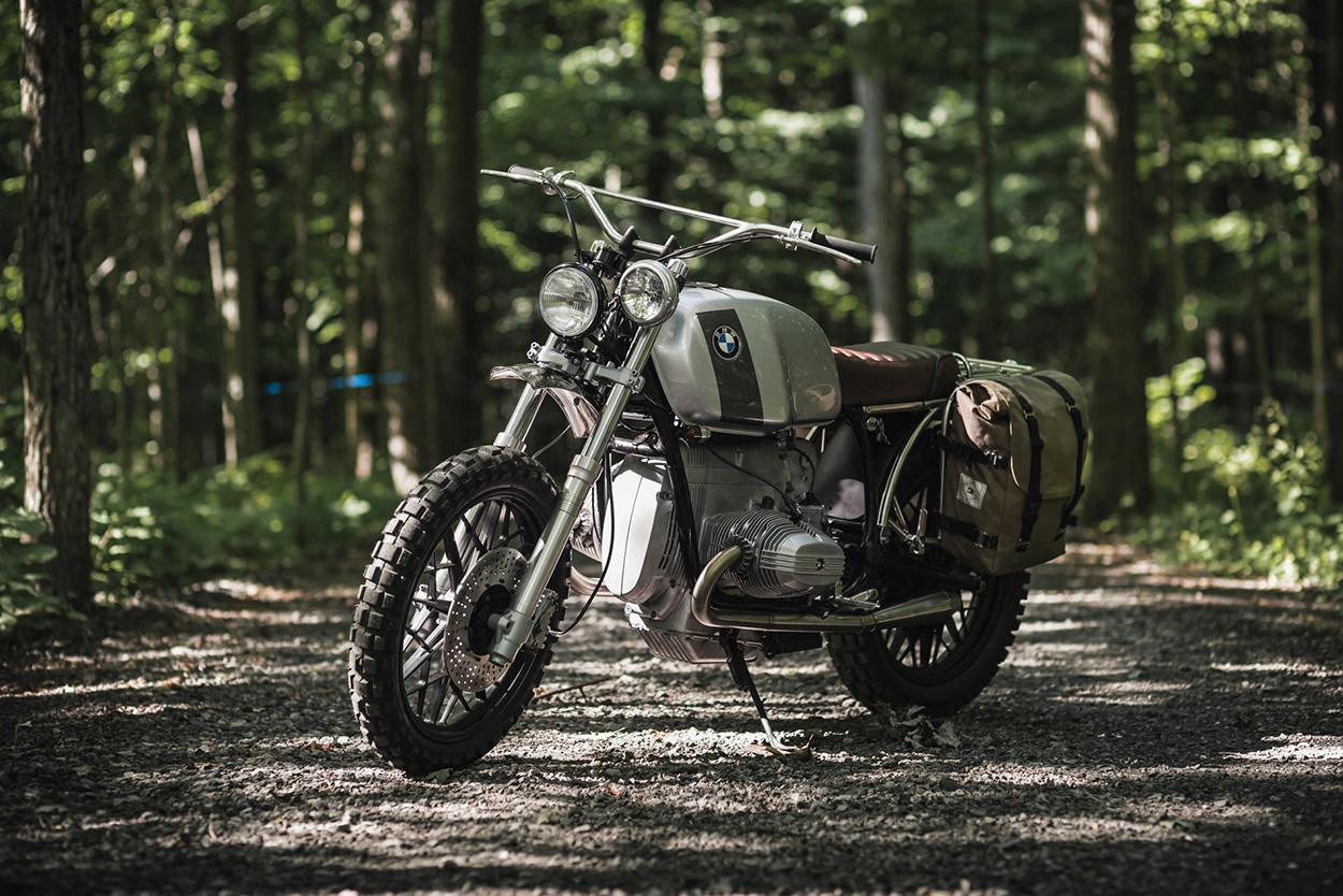 バイクバッグ BIKE EXIF BMW R100にバッグをつける時の参考に