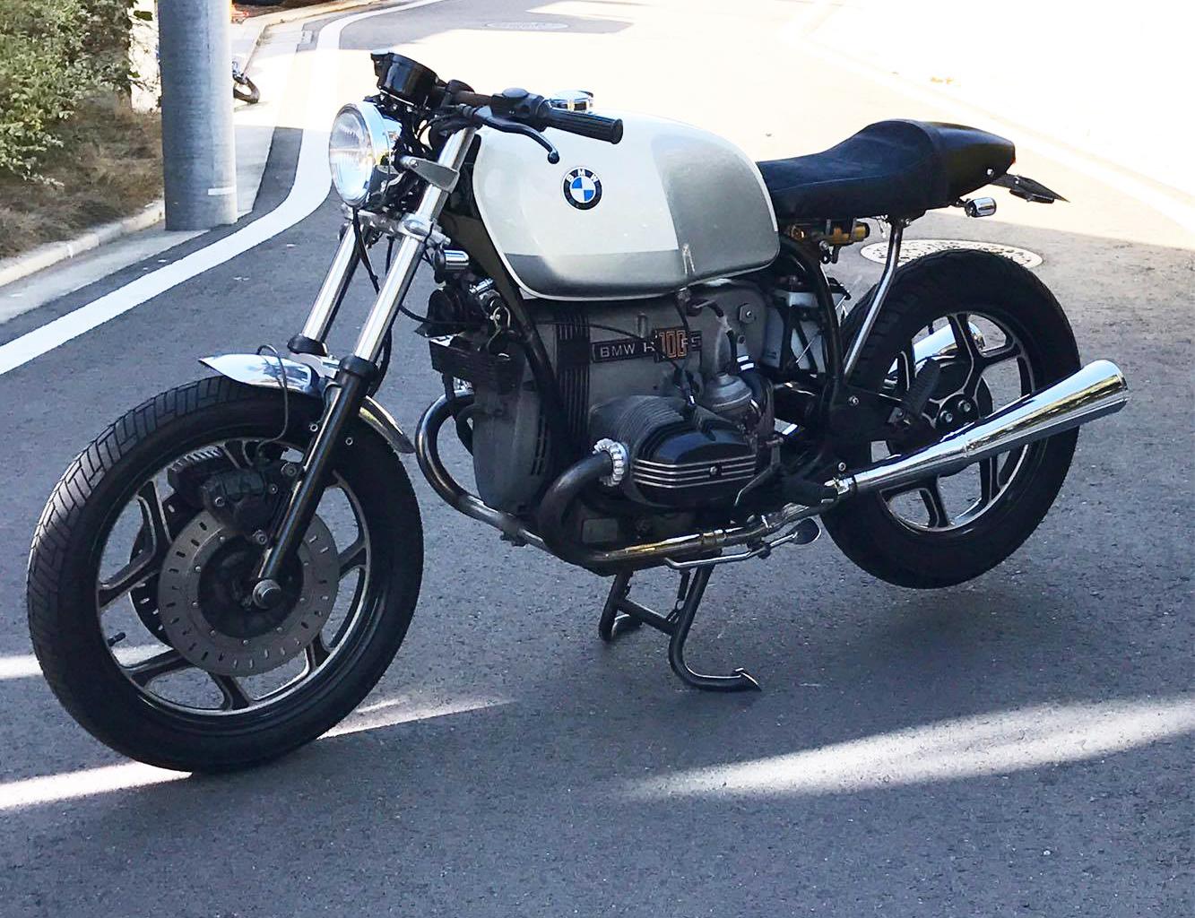 BMW R100RS 汎用シートカスタム&試作フレーム検証