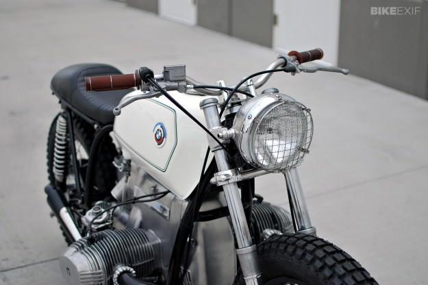 BMW R100RS ヘッドライト カスタム 画像