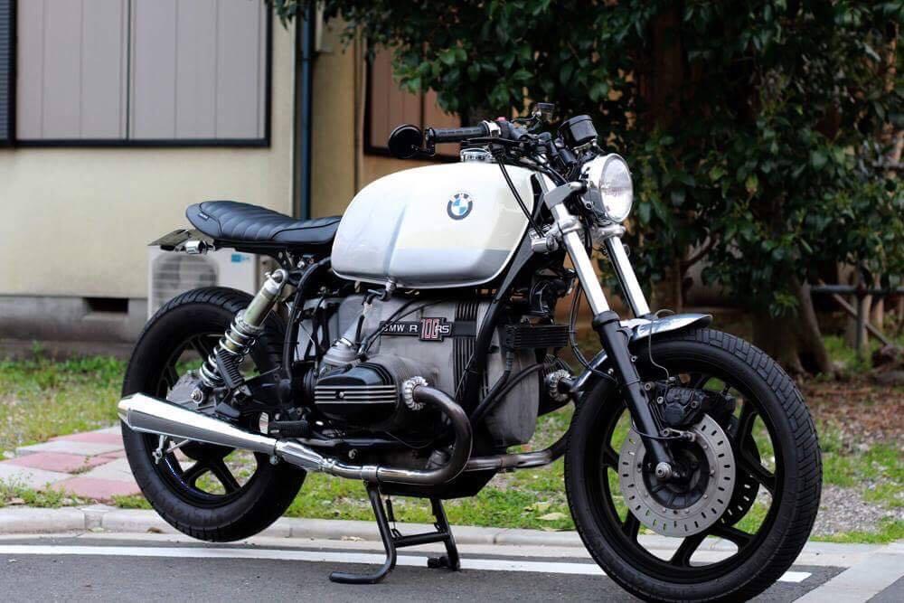 BMW r100rs ホイールペイントイメージの写真